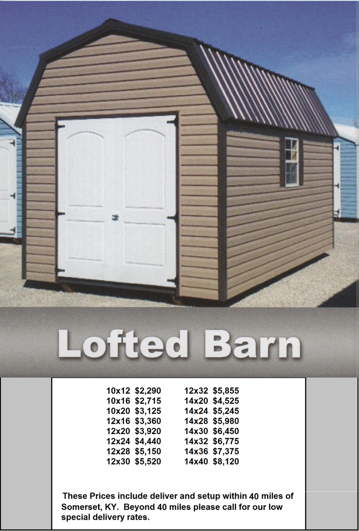 wildcat barns rent to own sheds barns log cabins carports